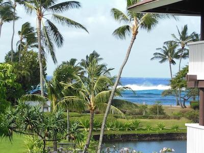 Gorgeous view from lanai