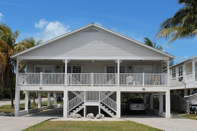 Our side by side full duplex which sleeps 6 per side. Great for family reunions!