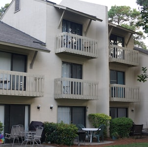 View From Town Home Complex Court Yard