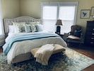 Large King Bedroom with TV