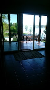 Lake front view from great room