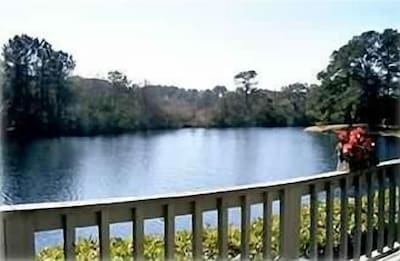 View of the Lake from the Deck
