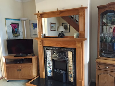 Ornate Fireplace in Sitting Room