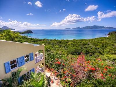 Plage de Smuggler's Cove, West End, Tortola, Iles Vierges britanniques