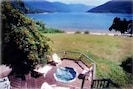Enjoy the beautiful lake & mountain views from the STARLIGHT BEACH HOUSE