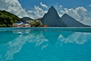 pool and Pitons reflection