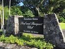 Welcome to Keauhou Surf & Racquet Club resort.  16 oceanfront acres!