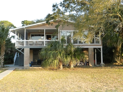 View of back of house from our dock.