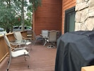 New Deck with patio furniture