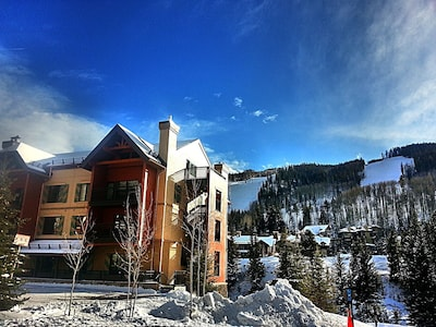 TRUE Ski-in/ski-out! LionSquare Lodge is ON the slopes