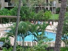 View From Lanai of Kamaole Sands Pool