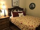 Private bedroom #2, ground floor, queen bed