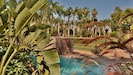 The ranch swimming pool and tennis court.  Amazing!.  All guests have access