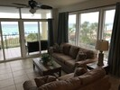Living Room Directly on the Beach
