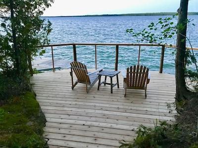 New deck, September 2018.
