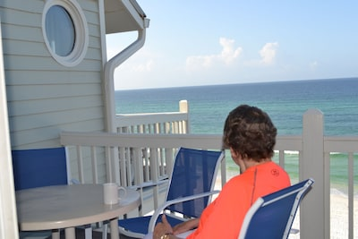 This is IT! The BEST condo with views of emerald blue water & crystal white sand