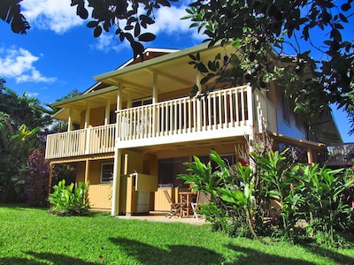 Beautiful Hawaiian-style Home in Lovely Tropical Setting