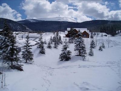 Corkscrew Flats, Breckenridge, Colorado, Verenigde Staten