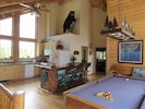 Full Kitchen and Pool Table Room