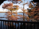 View of lake from deck to the south