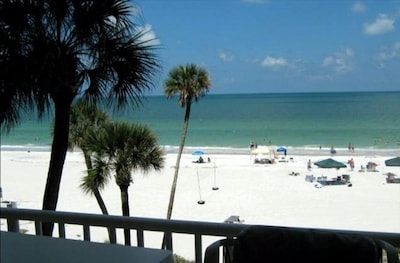 View from Balcony, living room, master bedroom - direct gulf front!