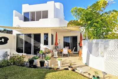 Your home in Mexico with beautiful view, flowering garden and herbs