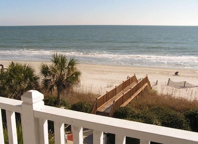 Direct beach views from bedrooms!