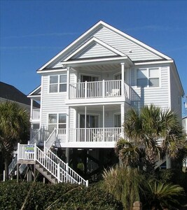 Beautiful ocean front beach house.