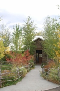 Front Entrance in fall