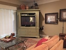 "Great Room w/ 50"" Television"