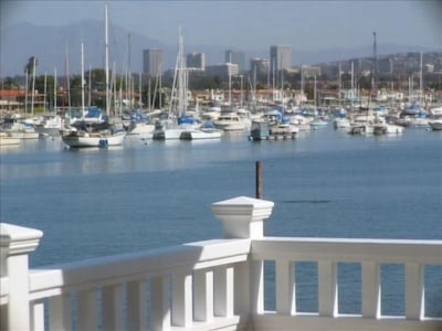 View of Beach and Bay from Casa