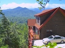 Located Mountainside and offering THE BEST 180 degree views of the Smoky's