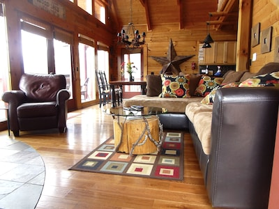 Super comfortable living area!