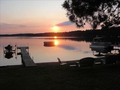 Beautiful sunset at the beach - Mielke's Fun at the Lakes Resort