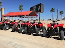 Just outside the gate, rent a 4 wheeler explore the dunes or go into town.