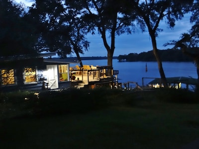 Lake Talquin nights with great views!