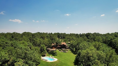 Set on 12 acres, Anedodi is your private estate for a week of fun!