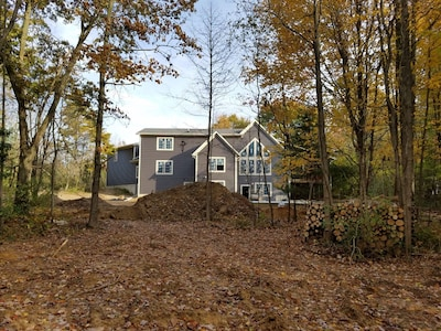 Large 10 bedroom Home on 15 acres with pool, hot tub, pond and more
