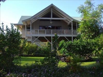 Sanctuaire et jardins de la paix Paleaku, Captain Cook, Hawaï, États-Unis d'Amérique