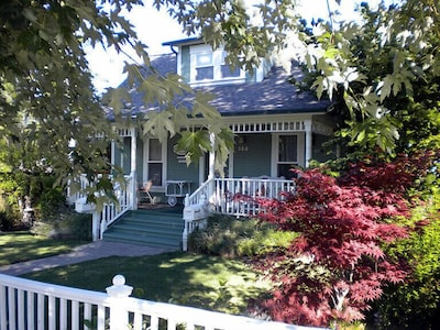 Front of main house on Second Street