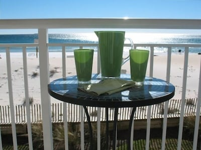 Can't beat the view from the balcony...lemonade not included !!!