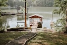 Covered Dock and boat slip