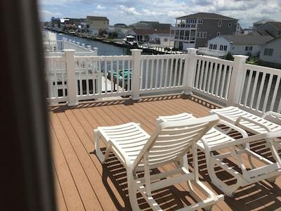 Second floor deck