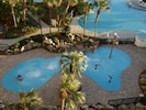 A Kids' Splash Pad adjacent to the lagoon pool. Pic made from 611 balcony
