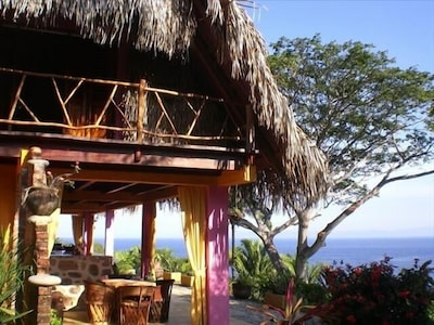Casa Coco From The Side With Panoramic Ocean View
