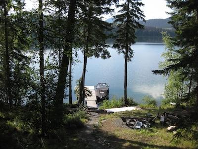 Emar Lakes Provincial Park, Bridge Lake, British Columbia, Canada