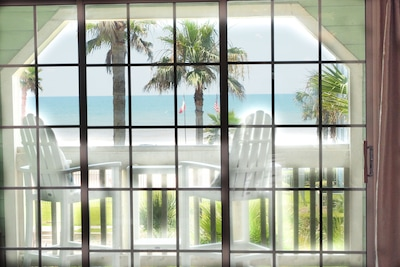 """Spectacular beach view Condo at Babe's beach in resort style """"The Dawn"""" Complex"""