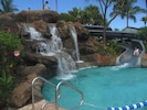 Waterfall Swimming Pool with Water Slide at Westin