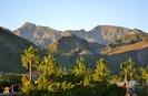 The Sierra de la Giganta mountain range - view from the 3rd level.