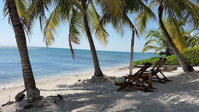 your personal slice of paradise on our private beach